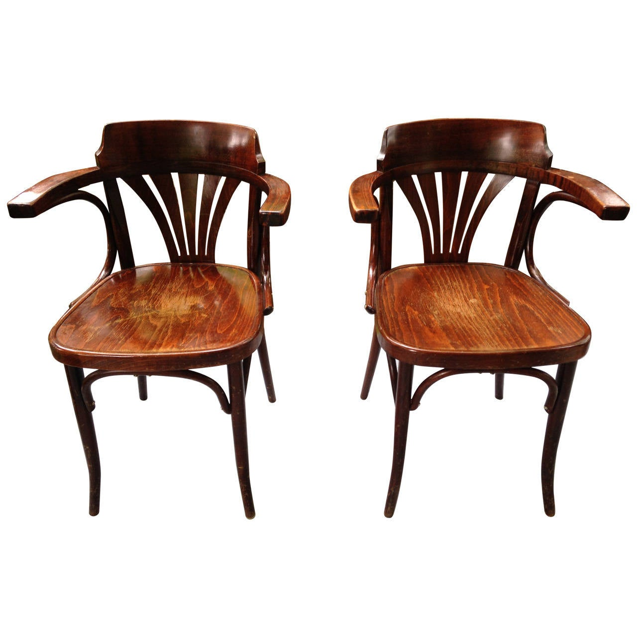 thonet chair styles farmhouse chairs pair of vienna style bentwood dining 12