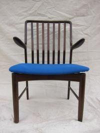 Midcentury Moreddi Teak Arm Chair at 1stdibs