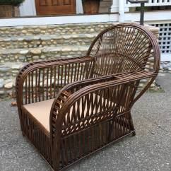 Antique Wicker Chairs Target High Chair Stick Lounge For Sale At 1stdibs