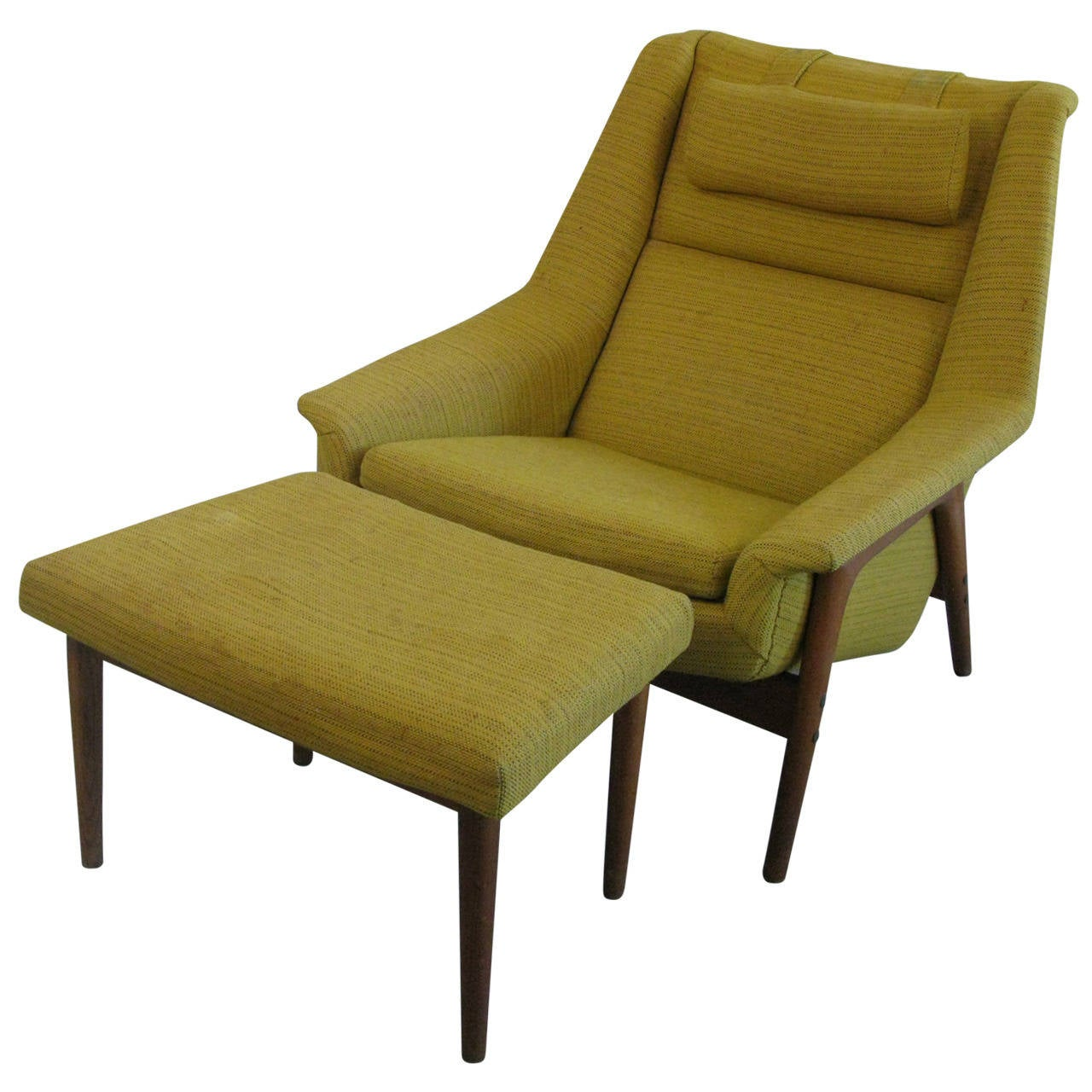 Mid Century Lounge Chair Mid Century Swedish Lounge Chair And Ottoman With Dux