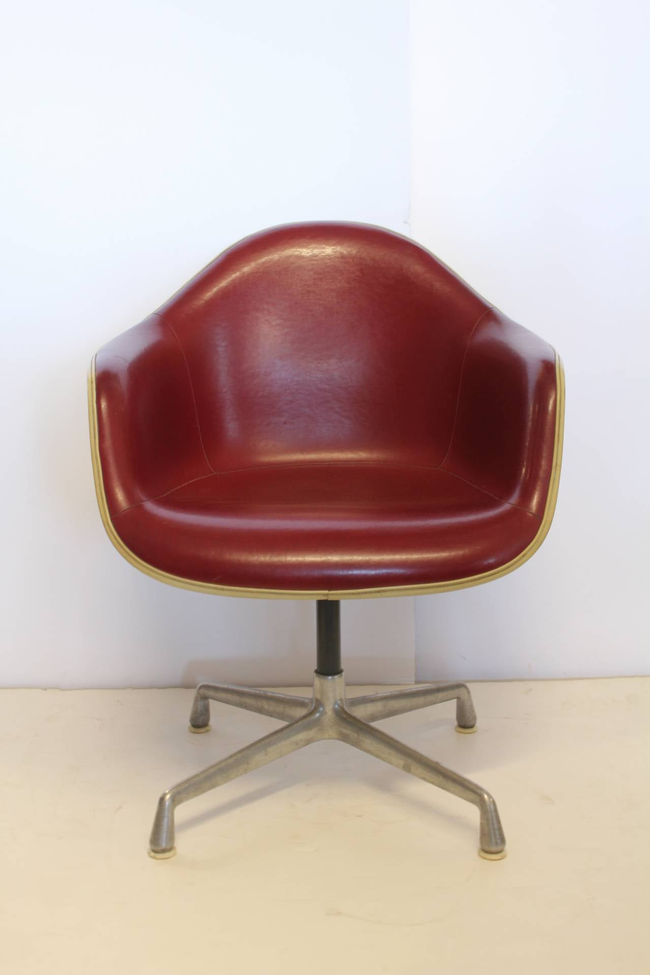 metal bucket chairs xp series gaming chair charles eames swivel for herman miller