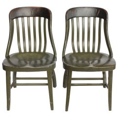 Old Metal Chairs Blue Resort By The Sea Vintage Shaw Walker At 1stdibs