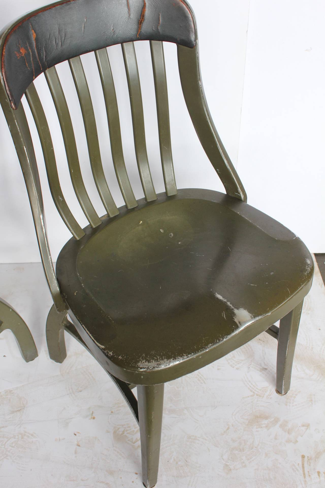 shaw walker chair wooden design and price vintage metal chairs by at 1stdibs