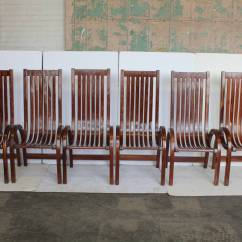 Tall Back Dining Chairs Front Porch Rocking Lowes Modern Bentwood For Sale At 1stdibs