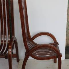 Bentwood Dining Chair Folding Room Chairs Modern Tall Back For Sale At 1stdibs