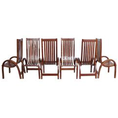 Tall Dining Chairs Outdoor Rocking Australia Modern Bentwood Back For Sale At 1stdibs
