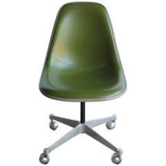 Desk Chair Herman Miller And A Half Slip Cover Eames Office Swivel Aluminum Group Leather At 1960s Charles For