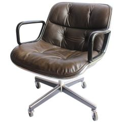 Pollock Executive Chair Replica Best Eames Uk Mid Century Desk Leather By Charles