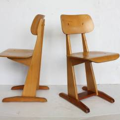 Bauhaus Swivel Chair Disposable High Floor Mat 1950s German Sled School Chairs By Karl Nothelfer