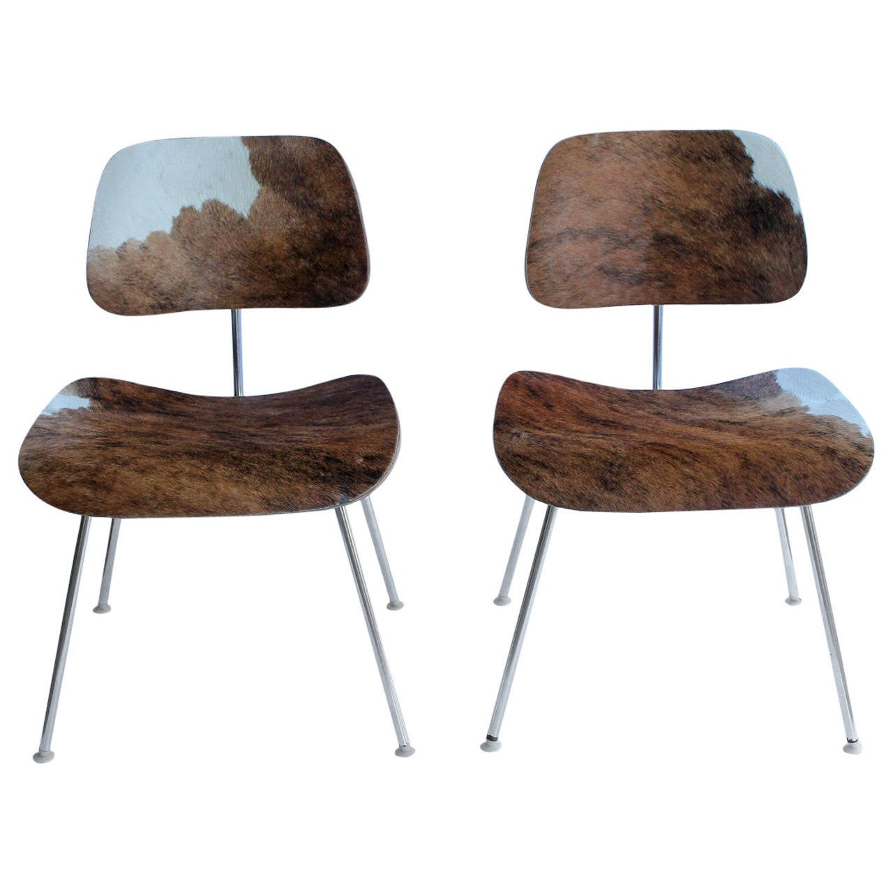 cowhide chairs modern neutral posture task chair charles and ray eames for herman miller dcm