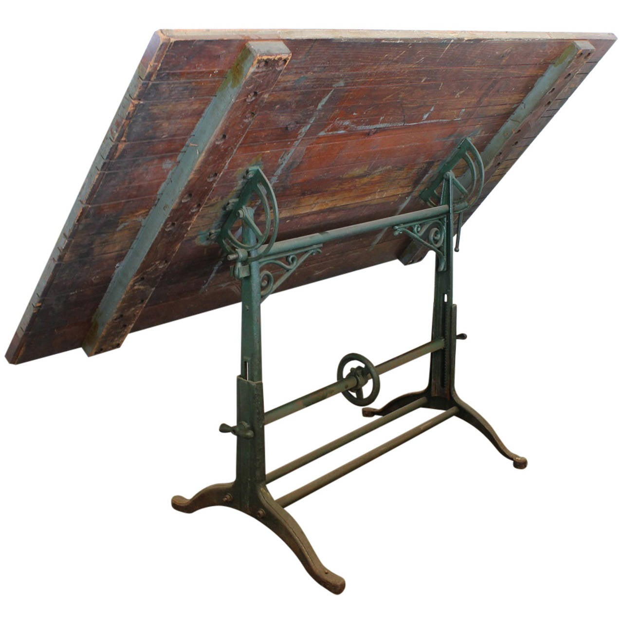 American Antique Drafting Table