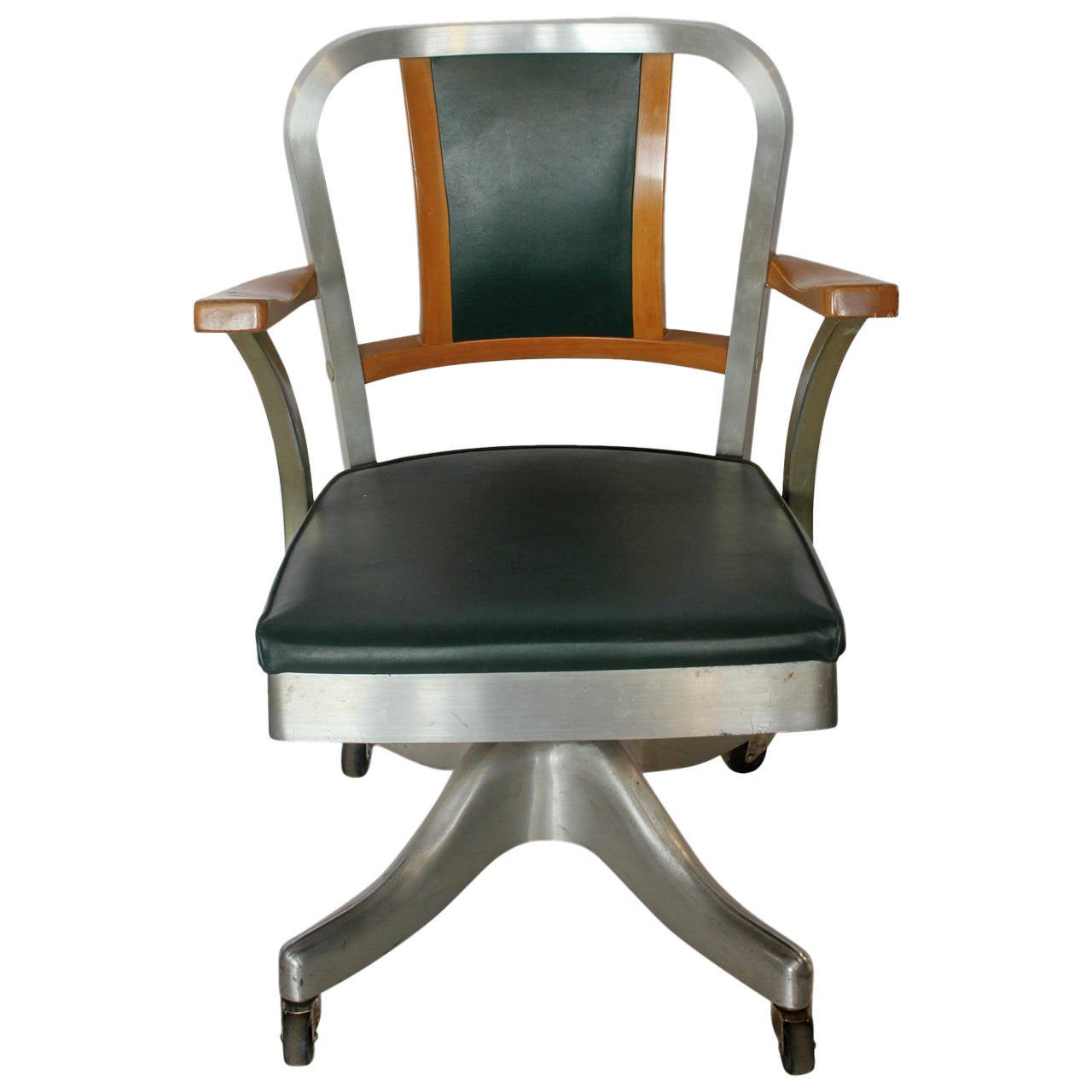 shaw walker chair wicker dining chairs nz 1940s desk by at 1stdibs