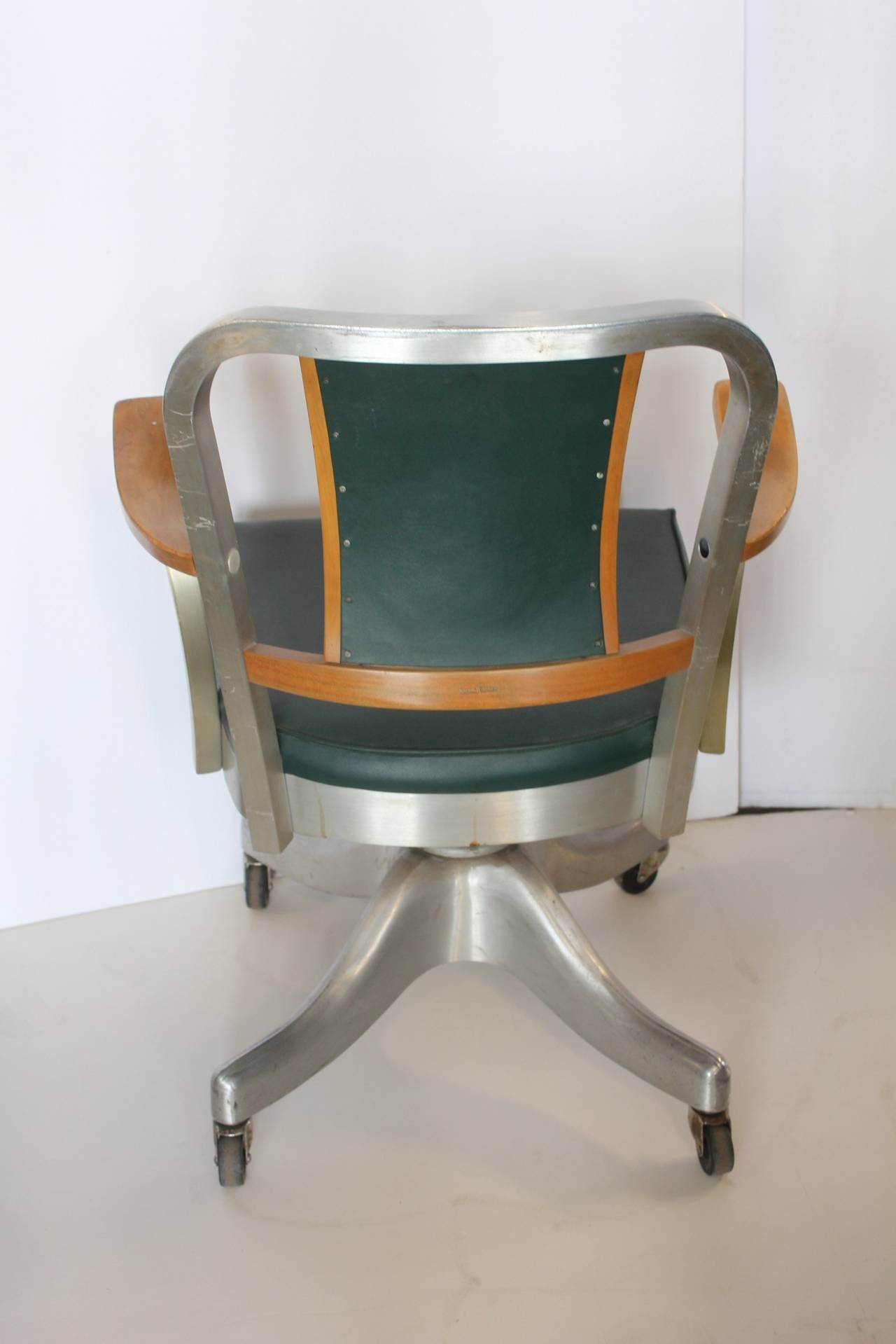 shaw walker chair summer high booster seat 1940s desk by at 1stdibs