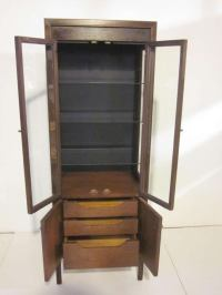 Mid Century Display Cabinet at 1stdibs