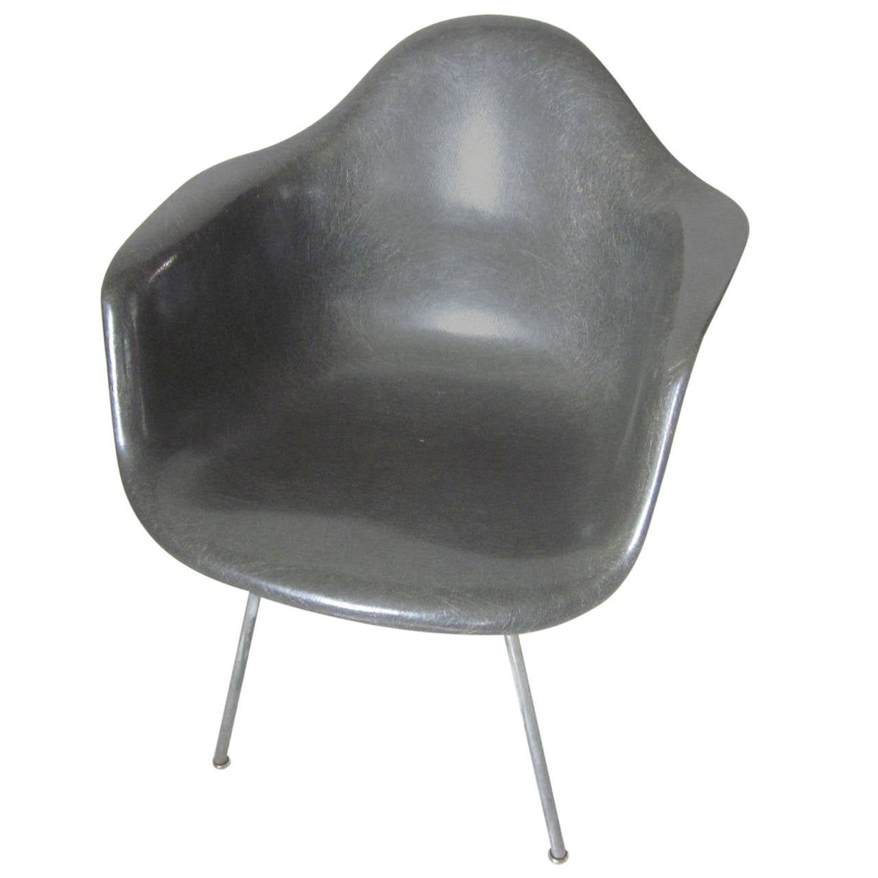 eames arm chair desk ikea early shell at 1stdibs
