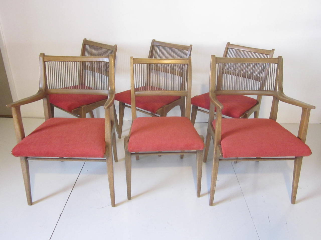Drexel Chairs Drexel Dining Chairs Designed By John Van Koert At 1stdibs