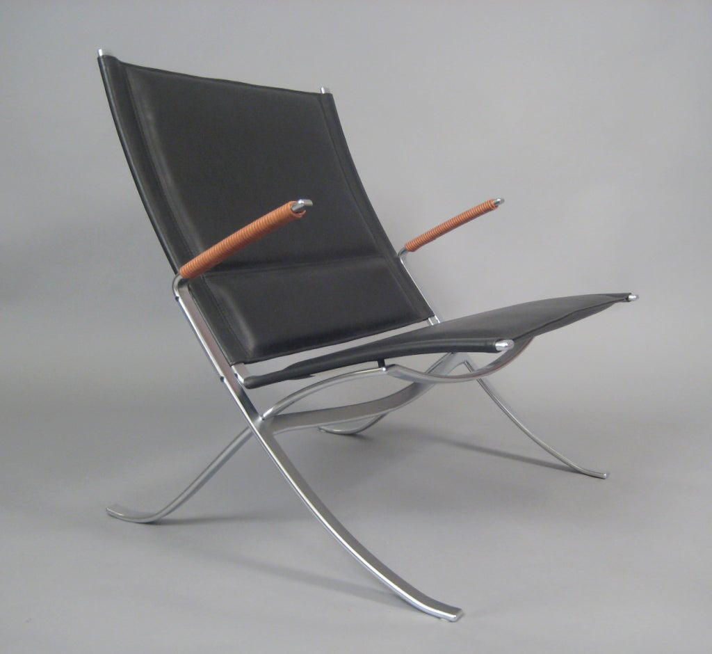 X Chair Fk82 X Chair By Fabricius And Kastholm For Sale At 1stdibs