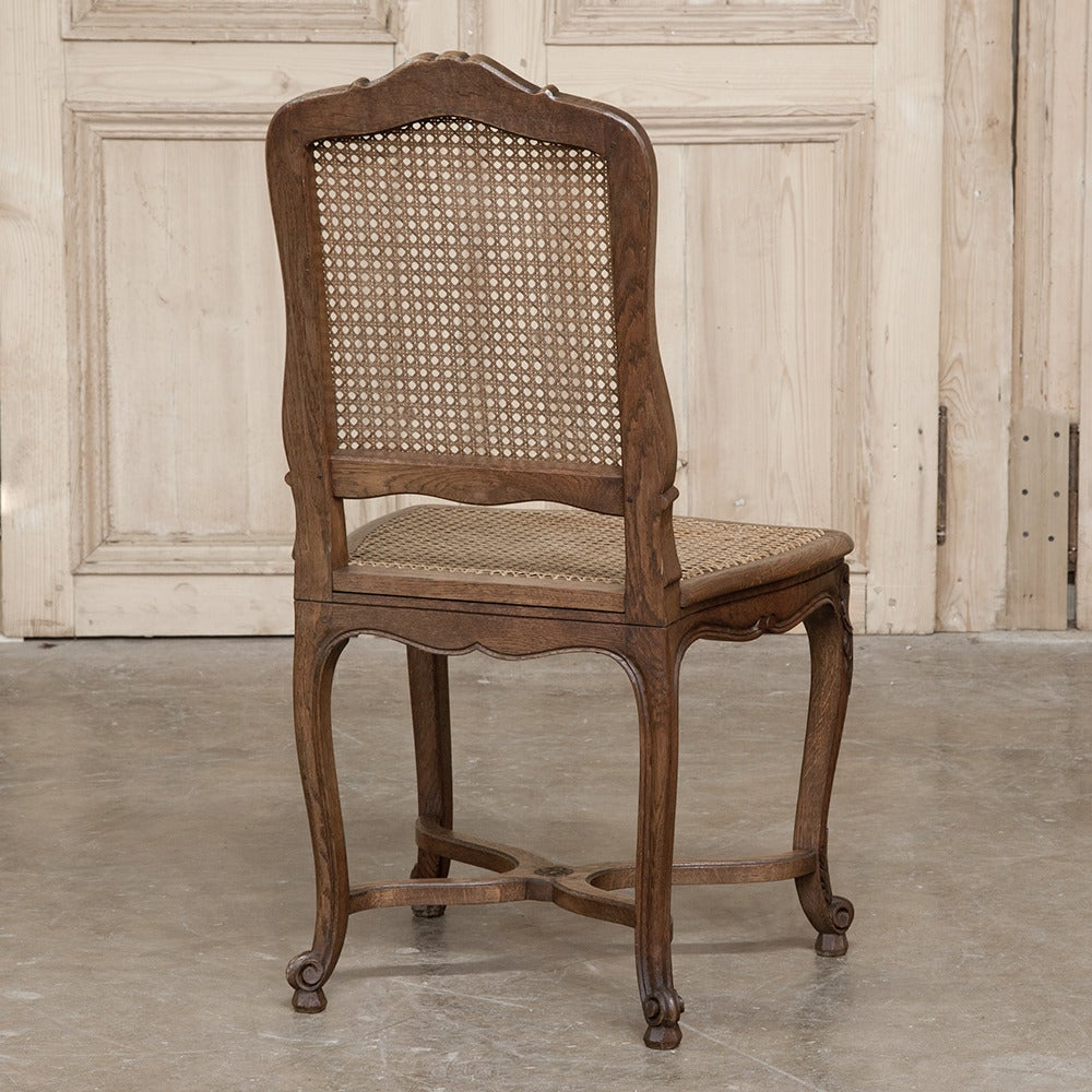 ladder back dining room chairs table and chair rentals orlando set of eight country french including two armchairs at 1stdibs