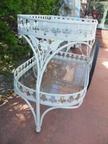 Salterini Vintage Tea Bar Cart 1stdibs