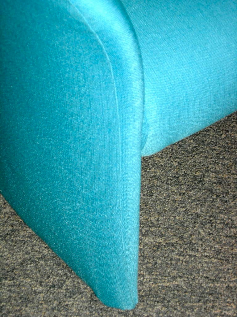Tiffany Blue Chair Pair Of Tiffany Blue Accent Chairs By Massimo Vignelli