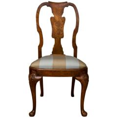 Queen Ann Chairs Stack 4 Less Antique Anne Style Side Chair For Sale At 1stdibs