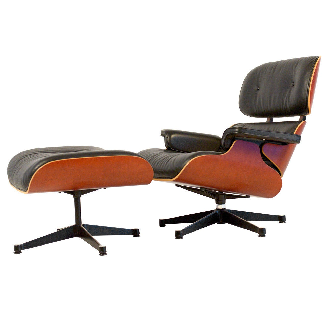 charles eames lounge chair covers hire newcastle and ottoman in excellent condition for sale