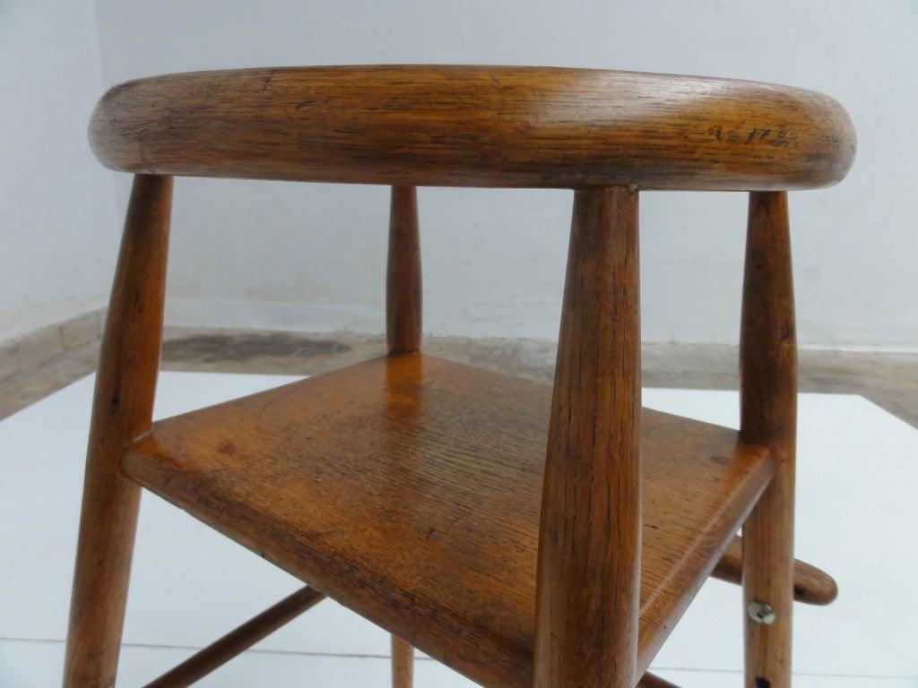 folding chair lulu gray pads rare early nanna ditzel high brdr kruger denmark