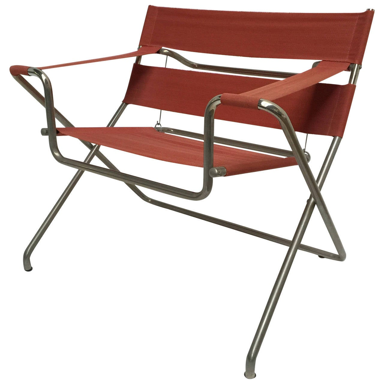 marcel breuer chair retro aluminum chairs d4 foldable easy purchased in 1968
