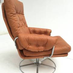 Easy Chair Nadir Steel Chrome Cover Hire Hemel Hempstead Rare Bruno Mathsson Leather And Swivel