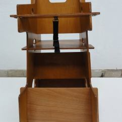 Red Childrens Desk Chair Alba Slat Back Dining Dutch Plywood Multi-use Object,rocker,high And At 1stdibs