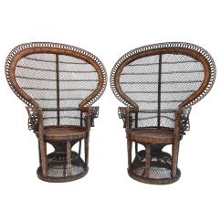 Rattan Or Wicker Chairs Womb Chair Reproduction Pair Of Iconic 1970s 39 39emmanuelle Sylvia Kristel