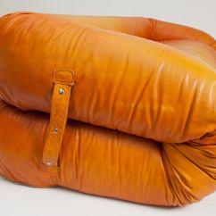 Anfibio Leather Sofa Bed Sofas Chicago Rare Allesandro Becchi For Giovanetti ...
