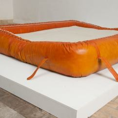 Anfibio Leather Sofa Bed Cleaners Bangalore Rare Allesandro Becchi For Giovanetti ...