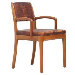 Unusual Armchair Duncan Phyfe Chair Devon Dennett Unique American Craftsman 1938 For