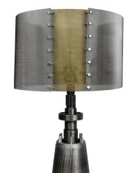 An Unusual Lamp Made From Machine Parts at 1stdibs