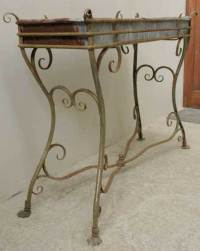 Wrought iron plant stand from Arras, France at 1stdibs