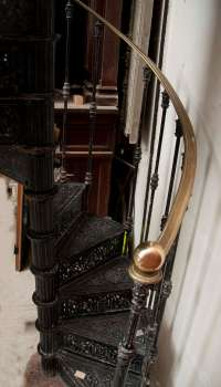 Antique Spiral Staircase Made of Cast Iron, 19th Century ...