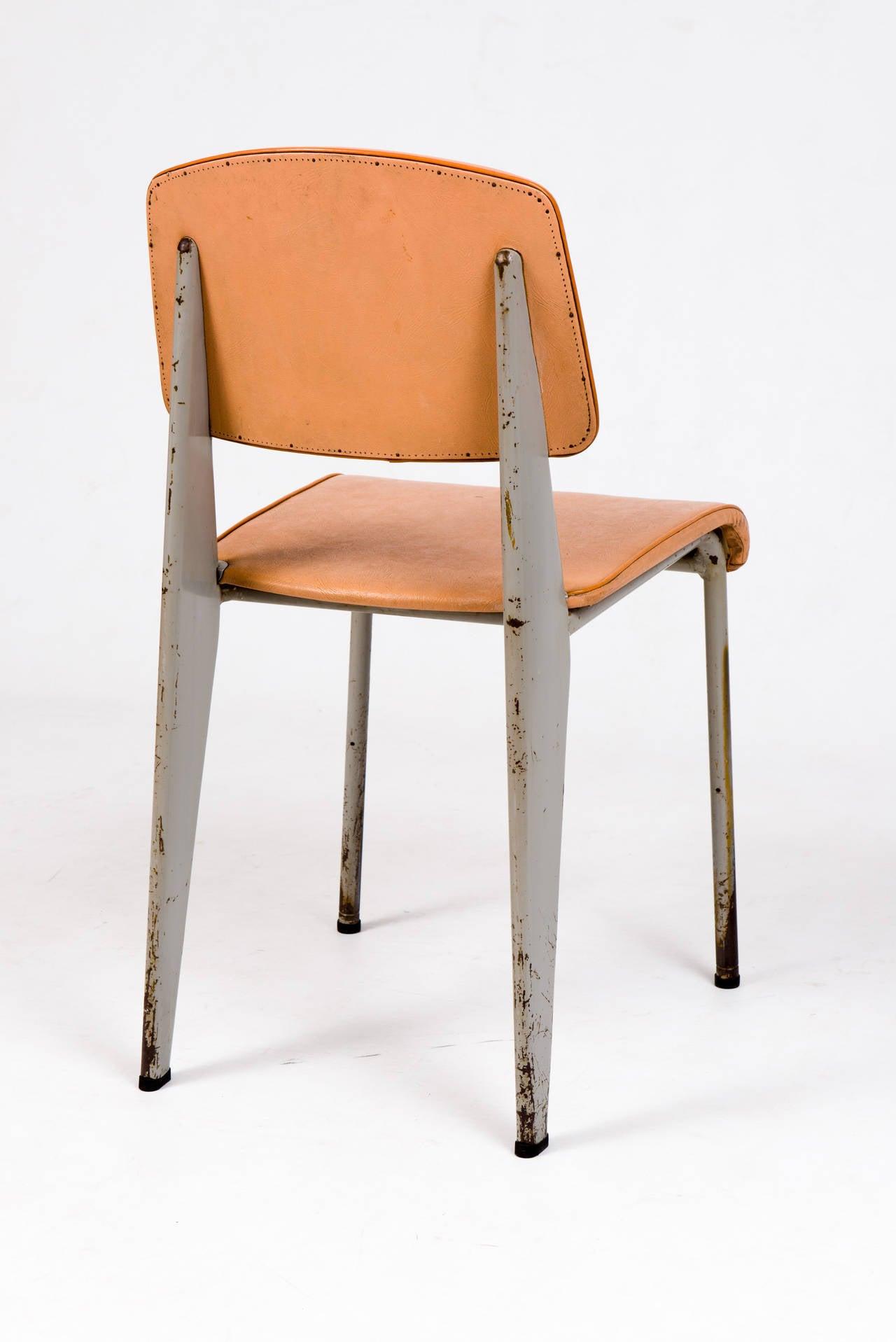 Standard Chair by Jean Prouv for Les Ateliers de Jean