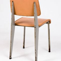 Prouve Standard Chair Flat Pads By Jean Prouvé For Les Ateliers De