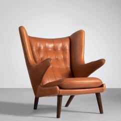 Papa Bear Chair Best High Back Office 2018 Lounge By Hans J Wegner In Cognac Leather