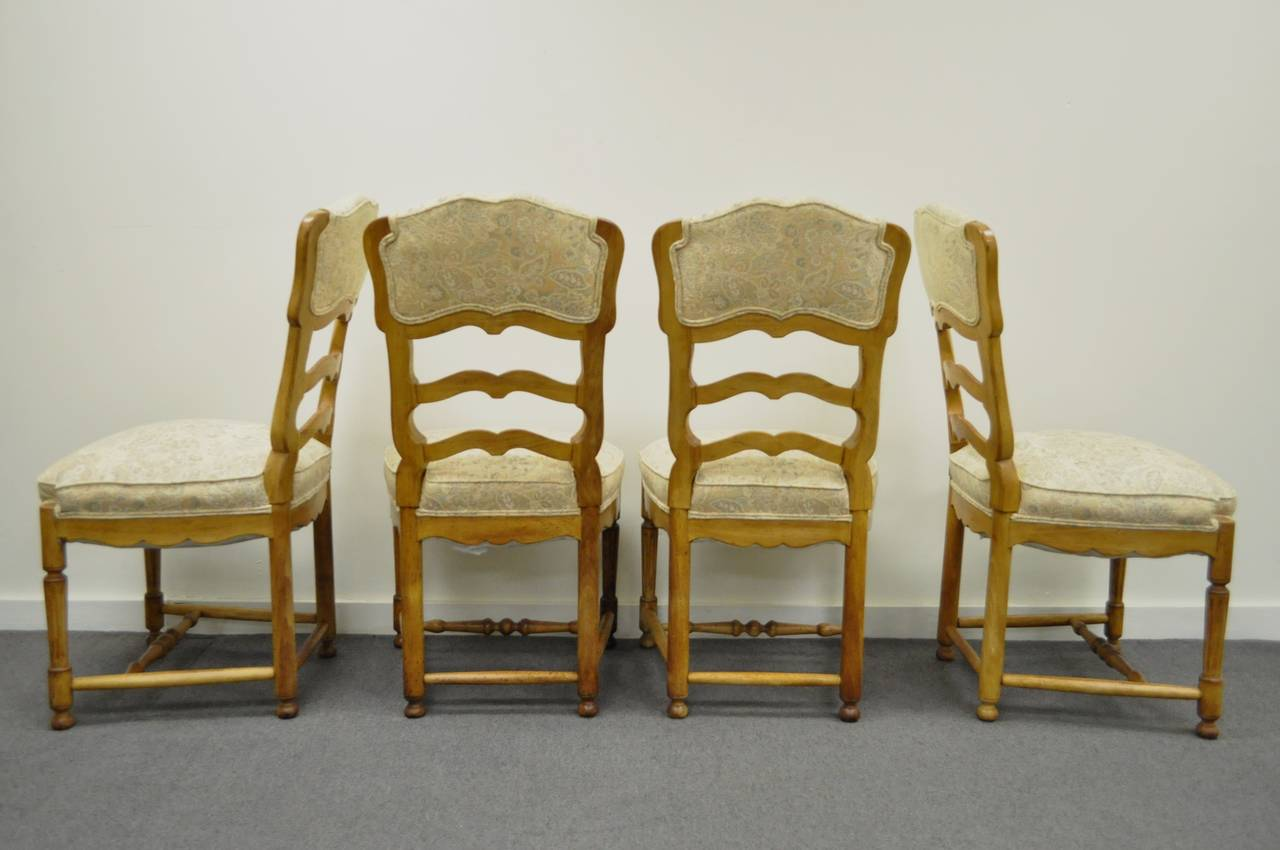 country french chairs upholstered chair back covers for dining room six style carved and ladder