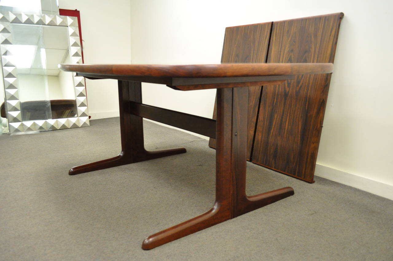 skovby rosewood dining chairs oversized chair cushions mid century danish modern table with two
