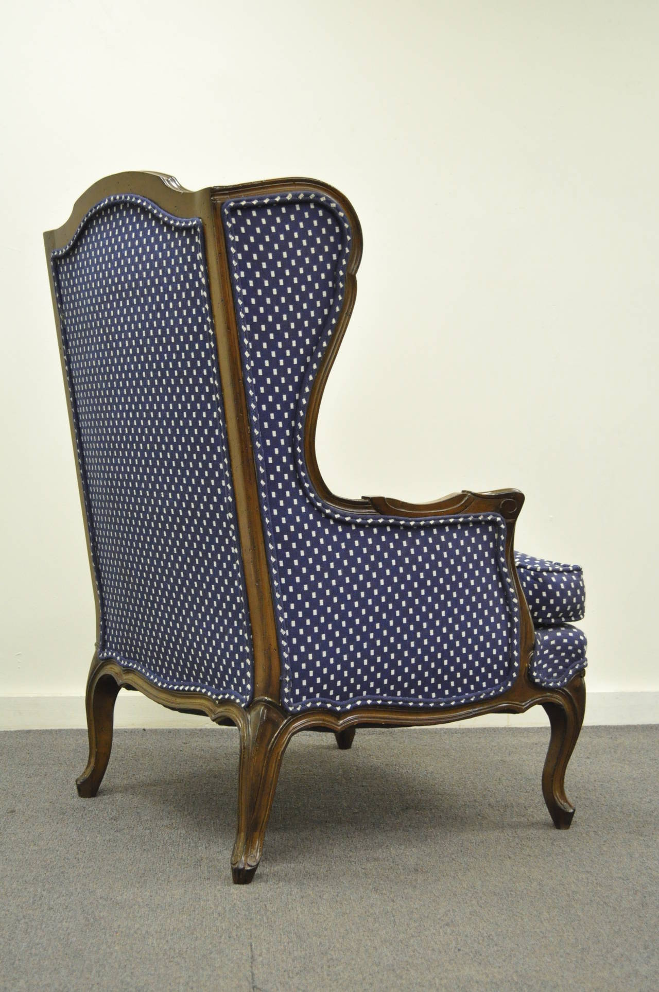 country style wingback chairs blue chair cover hire vintage french louis xv or carved