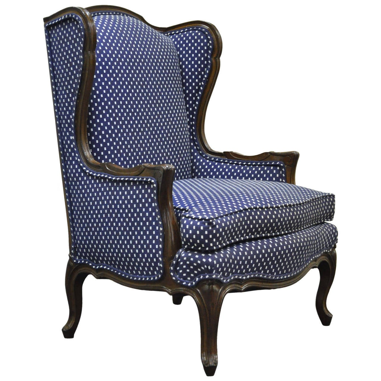 country style wingback chairs patio dining clearance vintage french louis xv or carved