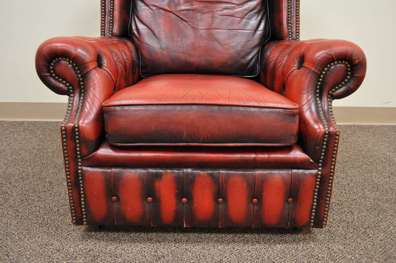 tufted leather sofa with rolled arms sectional contemporary style striking arm chesterfield lounge chair