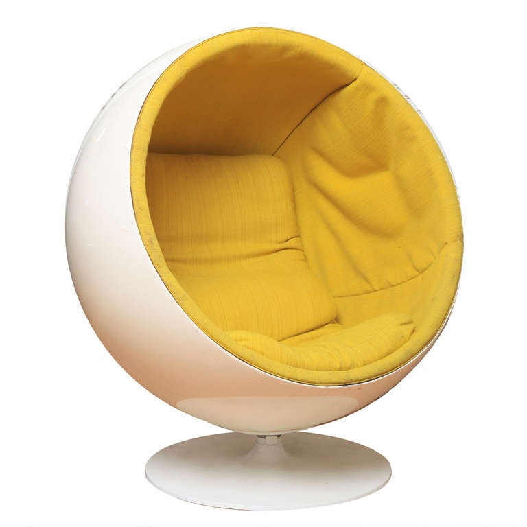 swivel pod chair old dining room chairs ball by eero aarnio at 1stdibs
