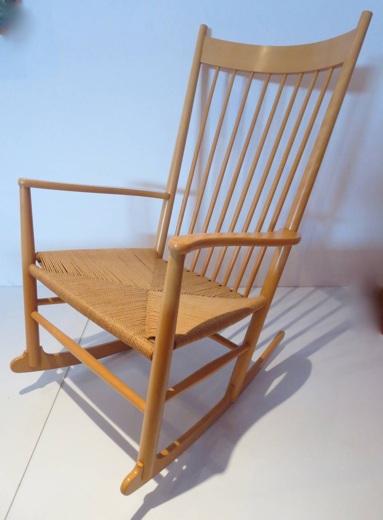 string chair seat babies r us high cover danish modern hans wegner rope and leather pads j16