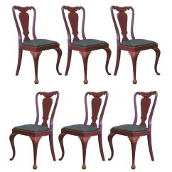 Queen Anne Style Chairs Office Chair Quora Set Of 6 For Sale At 1stdibs