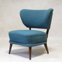 Modern Wingback Chairs For Sale High Top Pair Of Mid Century Slipper