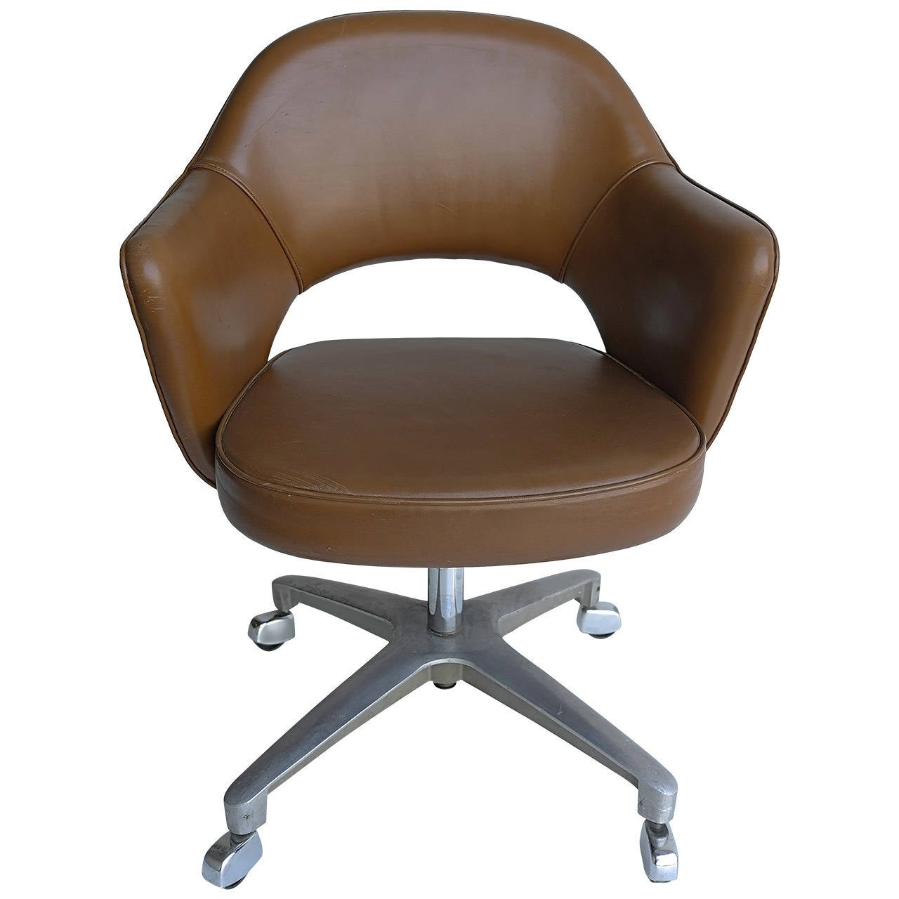 swivel chair office warehouse covers for folding chairs wedding eero saarinen armchair knoll sale at